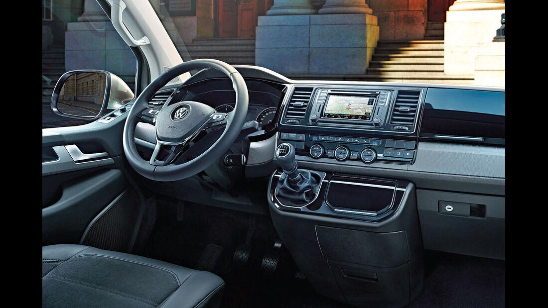 VW T6 Multivan, Cockpit