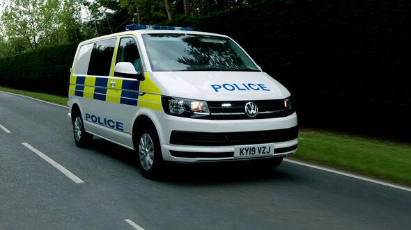 VW T6 Multivan Gefangenentransporter UK