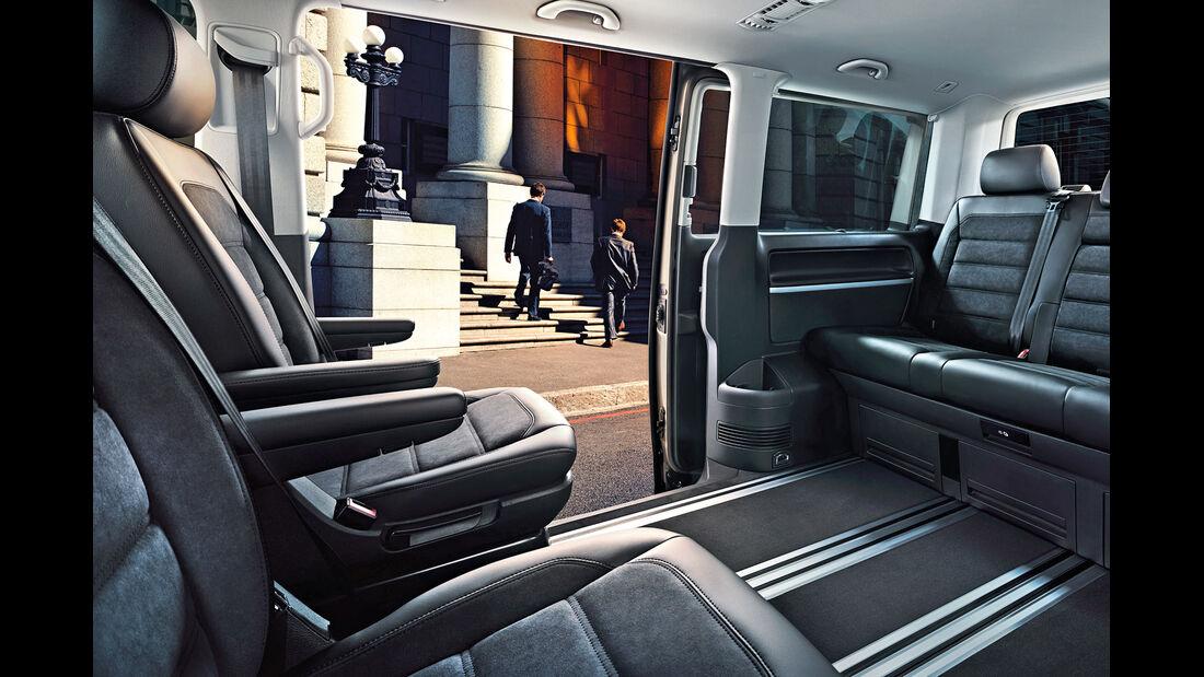 VW T6 Multivan, Interieur