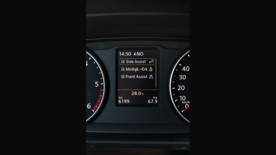 VW T6, VW Bus, 2015, Assistenzsysteme