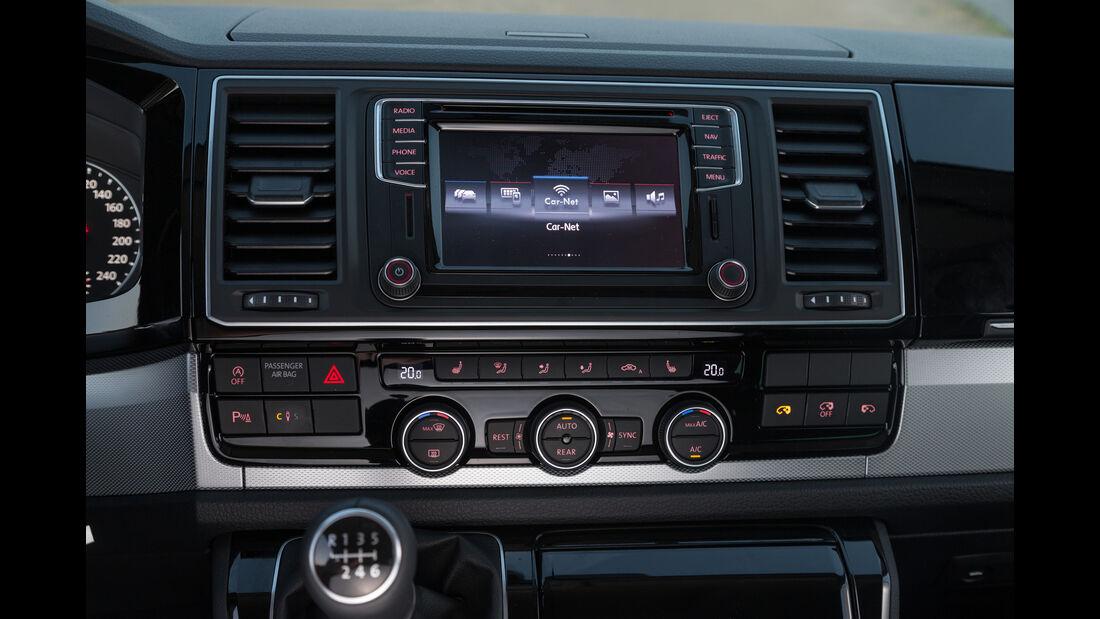 VW T6, VW Bus, 2015, Infotainment