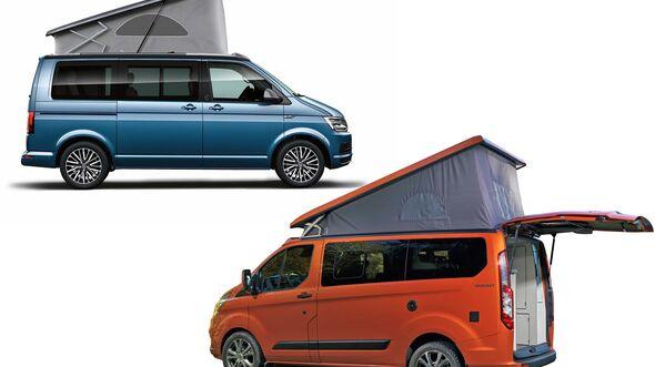 VW T6 und Ford Nugget
