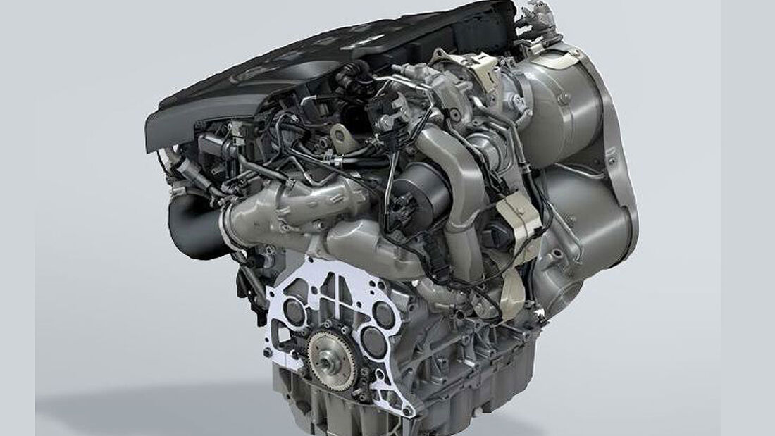 VW TDI 272 PS Vierzylinder Motor