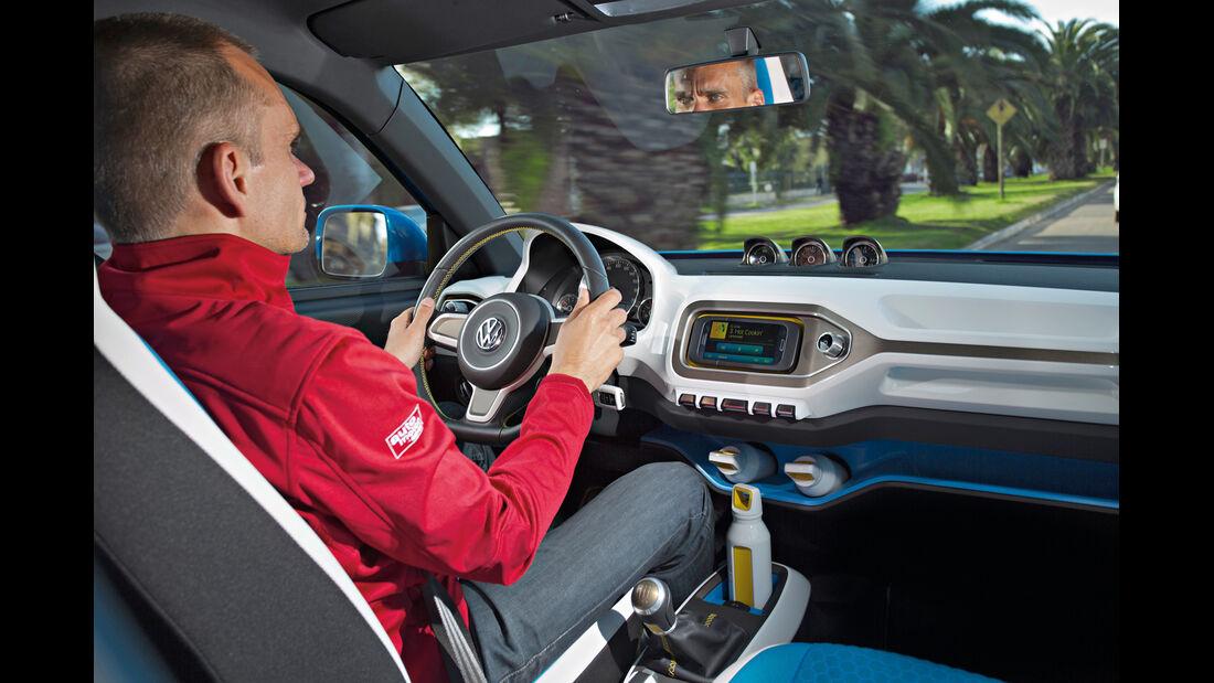 VW Taigun, Cockpit, Fahrer