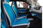 VW Taigun, Frontsitze