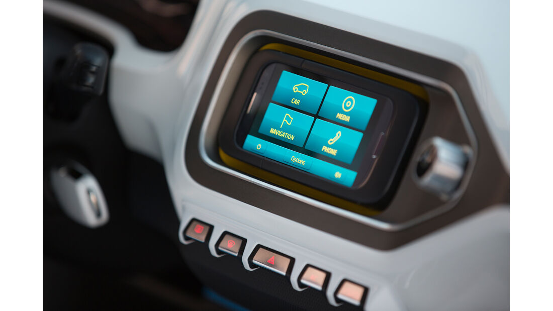 VW Taigun, Monitor, Bordcomputer