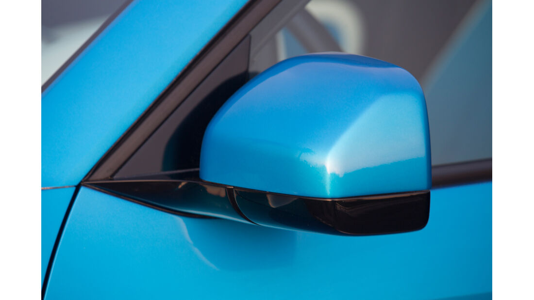 VW Taigun, Seitenspiegel