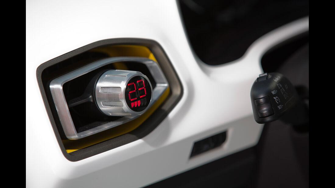 VW Taigun, Temperaturregler