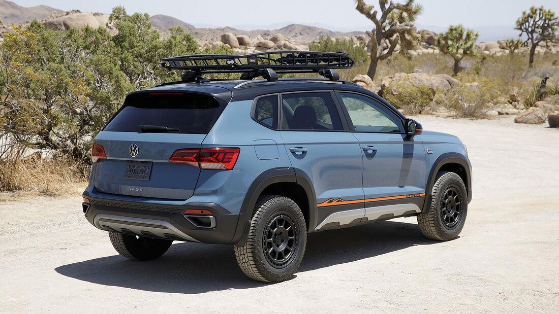 VW Taos Basecamp Concept