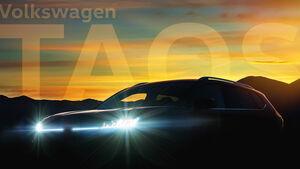 VW Taos Teaser