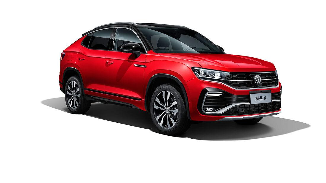 VW Tayron X SUV China