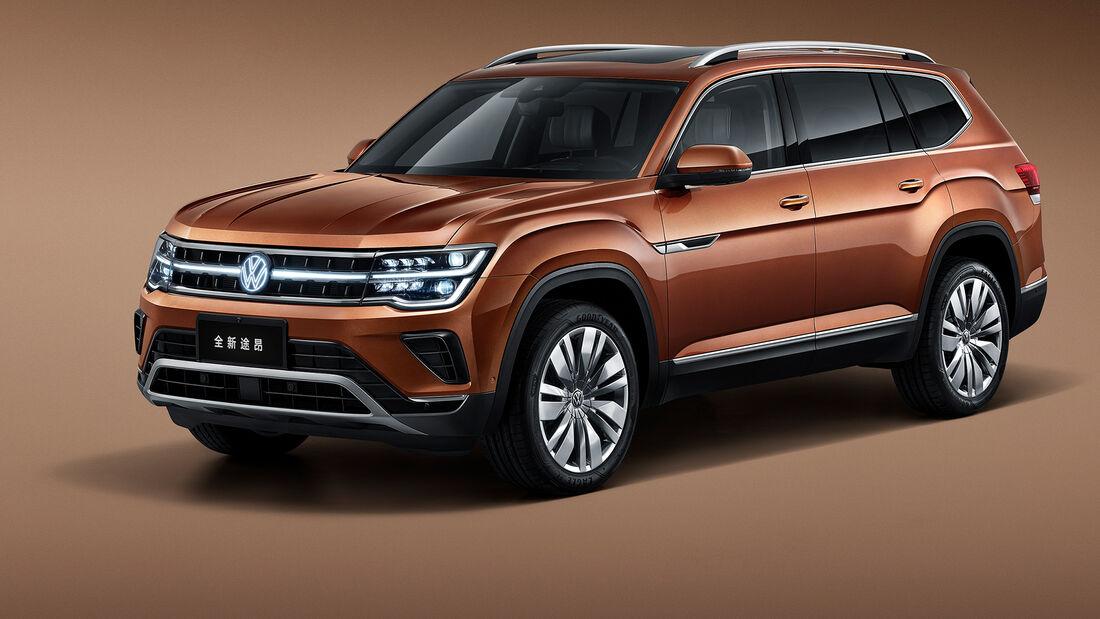 VW Teramont Facelift 2021