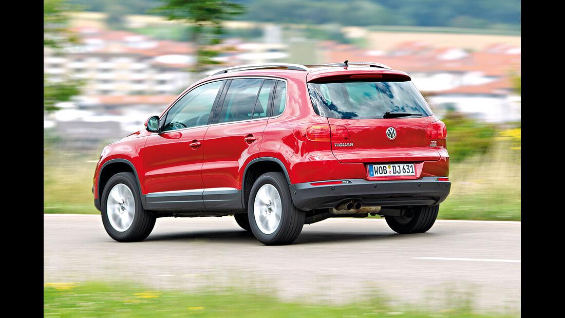 VW Tiguan 1.4 TSI  1.4 TSI 4Motion, Heckansicht