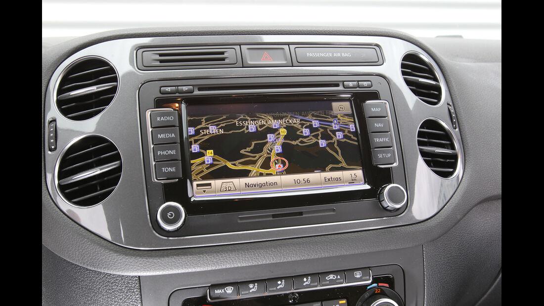 VW Tiguan 1.4 TSI  1.4 TSI 4Motion, Navi, Display