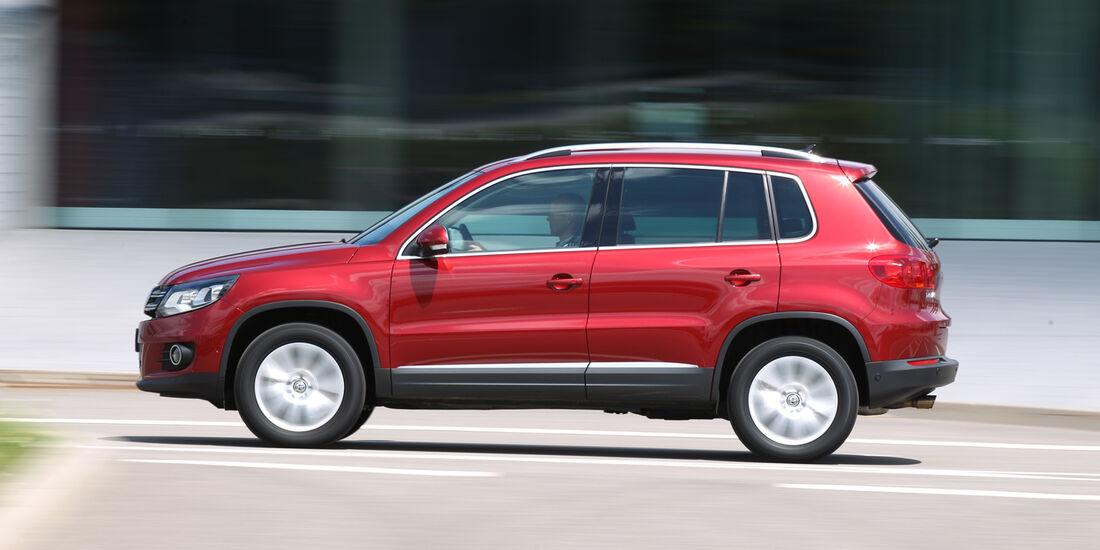 VW Tiguan 1.4 TSI  1.4 TSI 4Motion, Seitenansicht