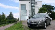VW Tiguan 1.4 TSI 4Motion, Deutsches Schuhmuseum Hauenstein
