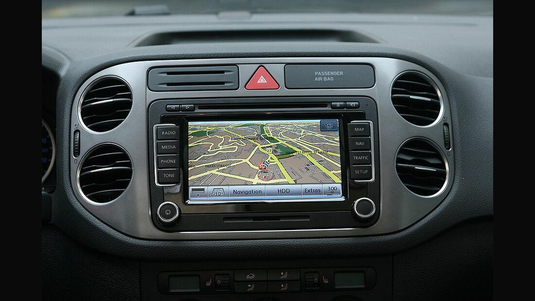 VW Tiguan 1.4 TSI 4Motion, Navigationssystem