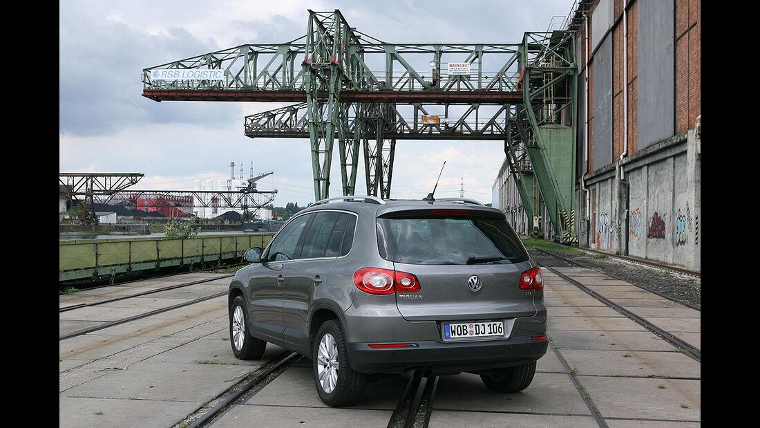 VW Tiguan 1.4 TSI 4Motion, Völklinger Hütte