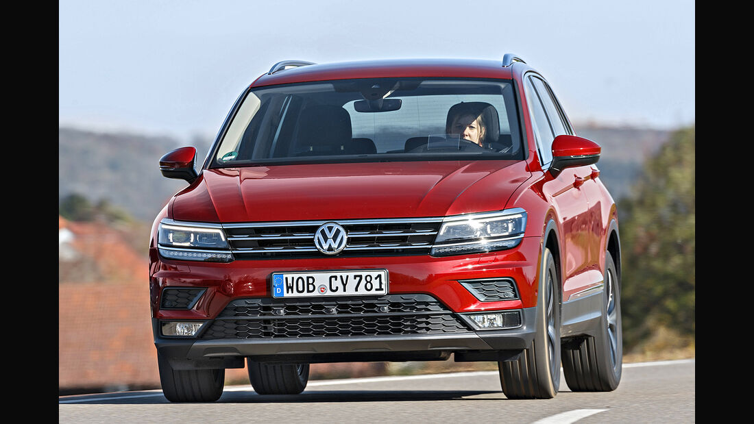 VW Tiguan 1.4 TSI ACT Comfortline, Exterieur