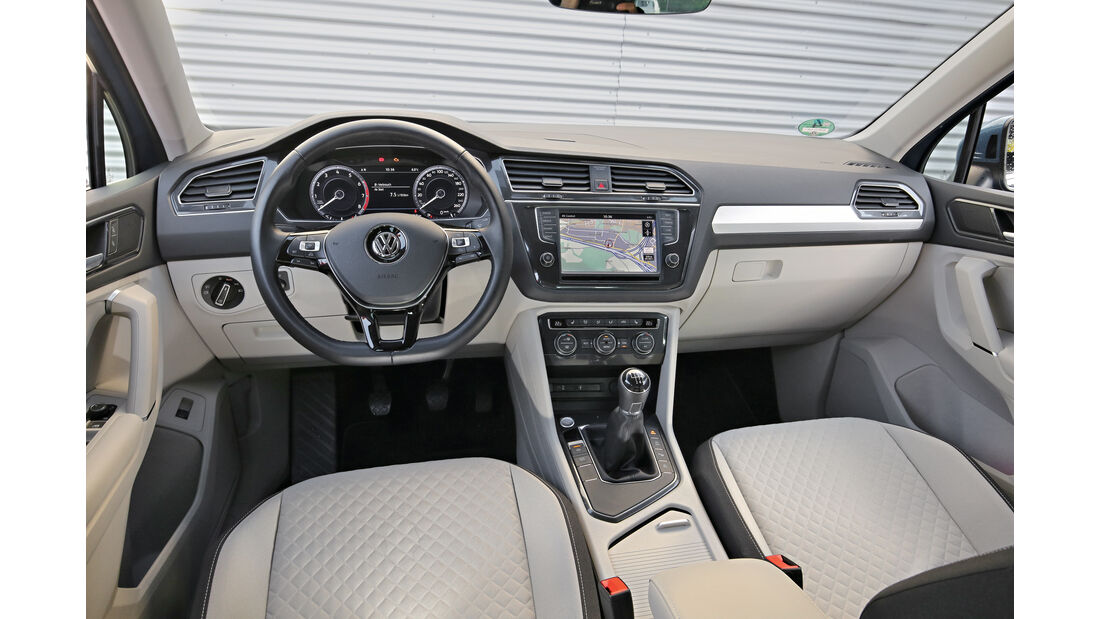VW Tiguan 1.4 TSI, Cockpit