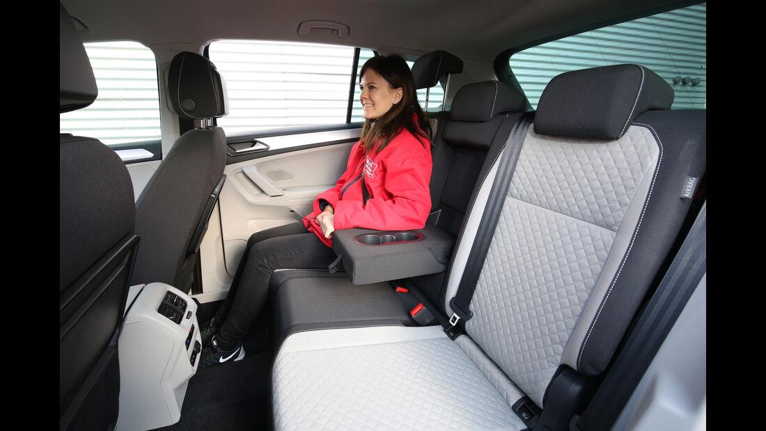 VW Tiguan 1.4 TSI, Fondsitze