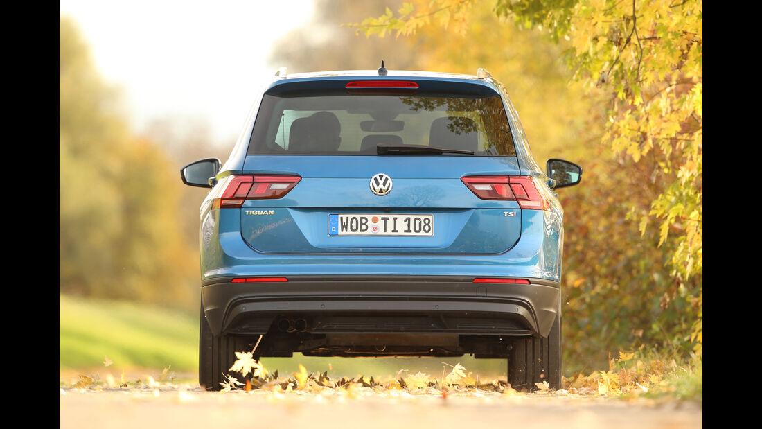 VW Tiguan 1.4 TSI, Heckansicht