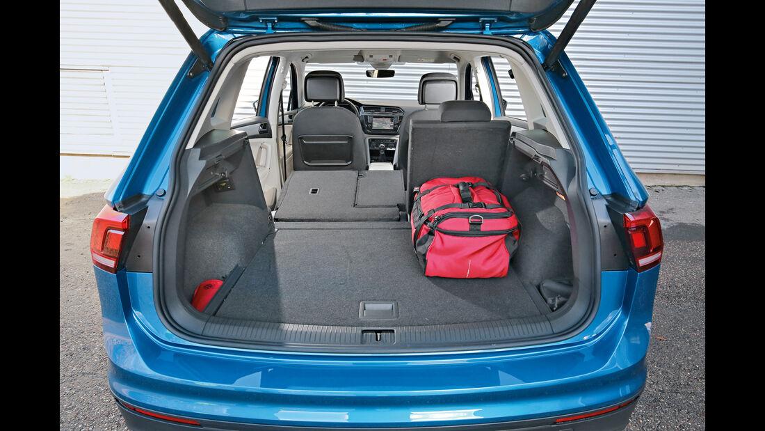 VW Tiguan 1.4 TSI, Kofferraum