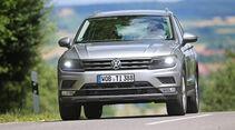 VW Tiguan 2.0 TDI 4 Motion Highline, AMS 1616, Vergleichstest