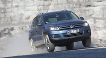 VW Tiguan 2.0 TDI 4Motion BMT, Frontansicht