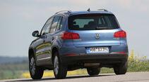 VW Tiguan 2.0 TDI 4Motion BMT, Heckansicht