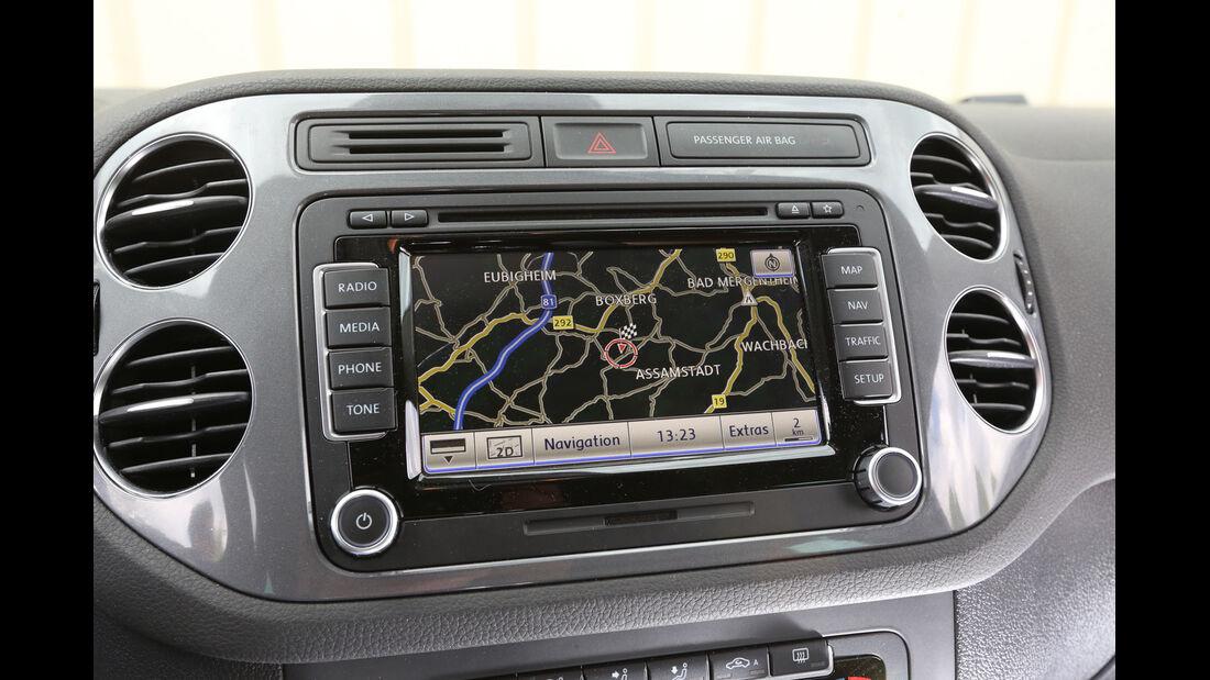 VW Tiguan 2.0 TDI 4Motion BMT, Navi