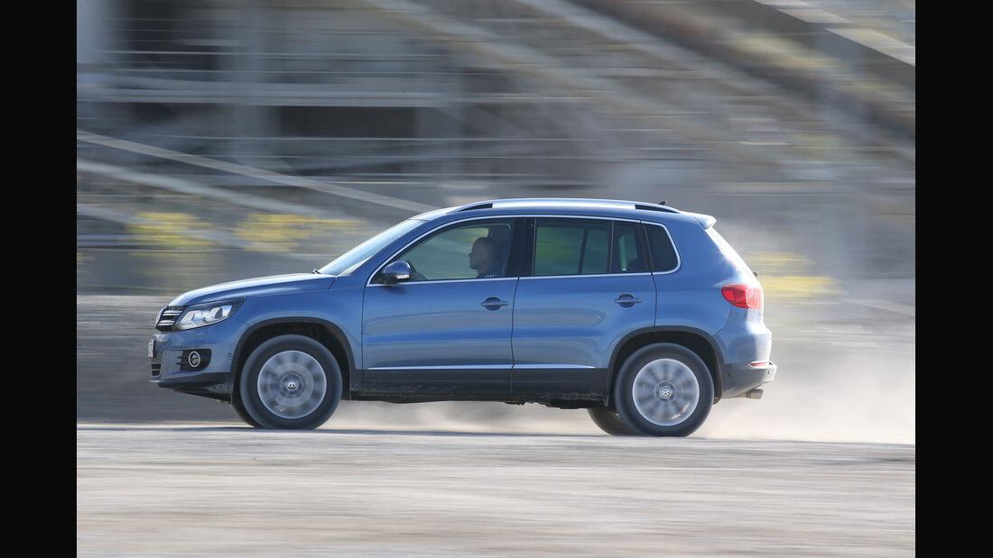VW Tiguan 2.0 TDI 4Motion BMT, Seitenansicht