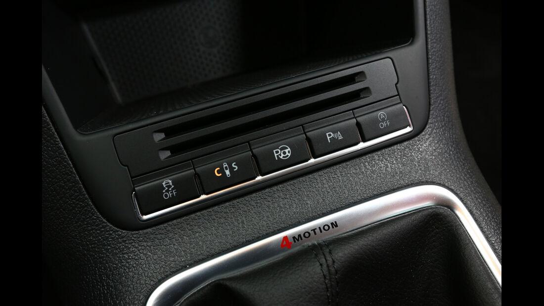 VW Tiguan 2.0 TDI 4Motion, Bedienelemente