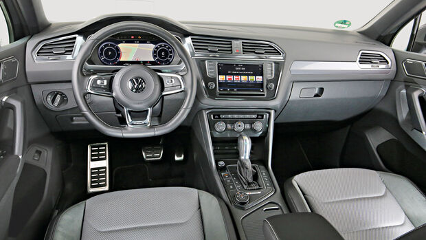 VW Tiguan 2.0 TDI 4Motion, Cockpit