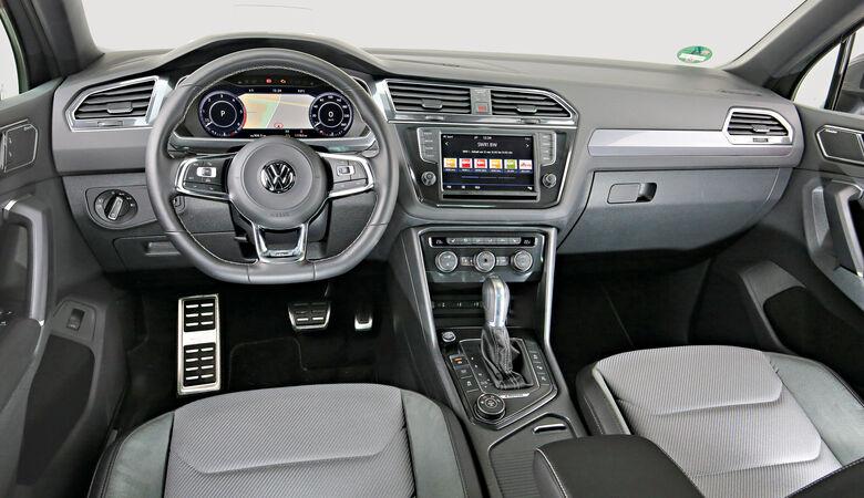 VW Tiguan 2.0 TDI 4Motion, Cockpit