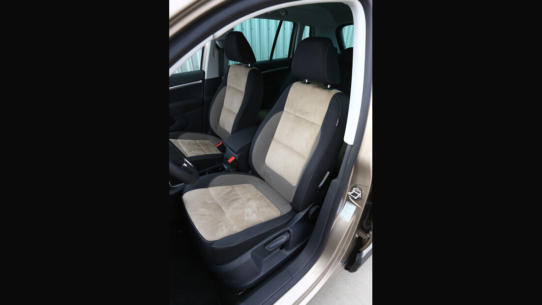 VW Tiguan 2.0 TDI 4Motion, Fahrersitz