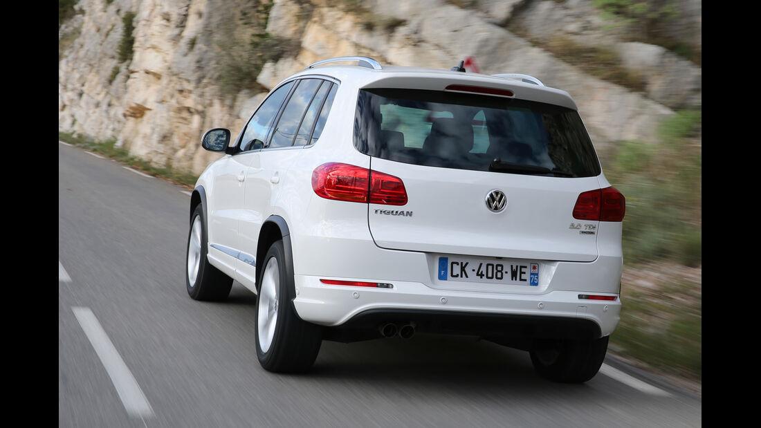VW Tiguan 2.0 TDI 4Motion, Heckansicht