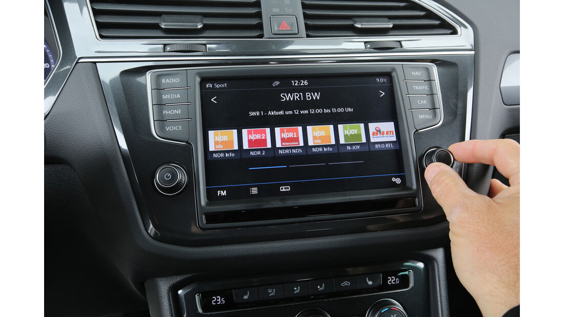 VW Tiguan 2.0 TDI 4Motion, Infotainment