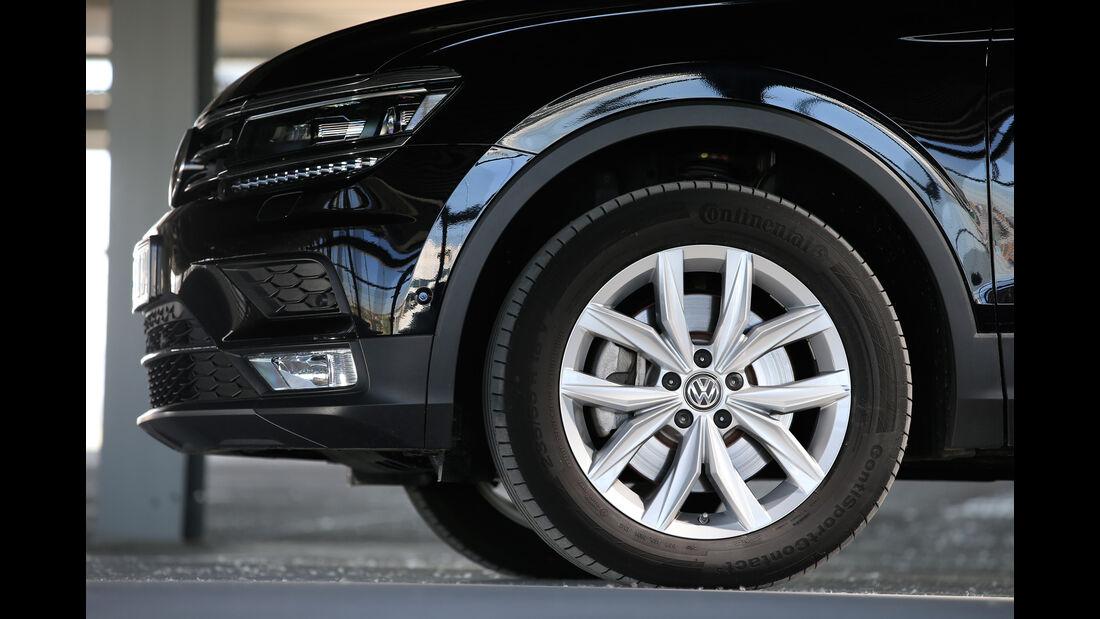 VW Tiguan 2.0 TDI 4Motion, Rad, Felge