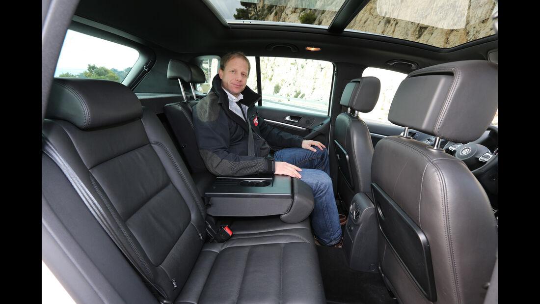VW Tiguan 2.0 TDI 4Motion, Rücksitz
