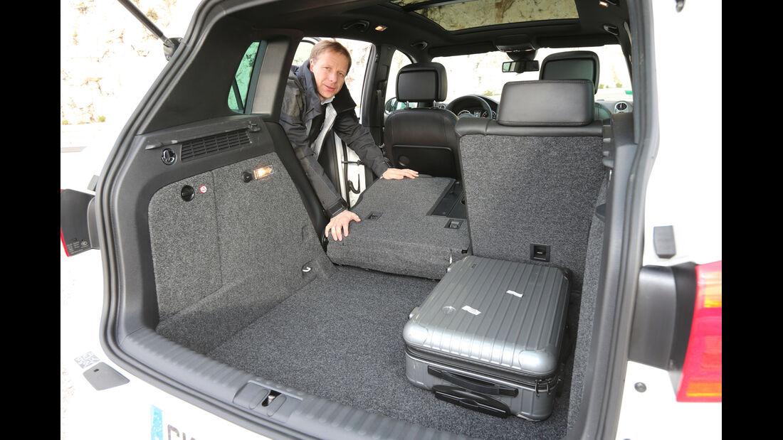 VW Tiguan 2.0 TDI 4Motion, Rücksitz, umklappen