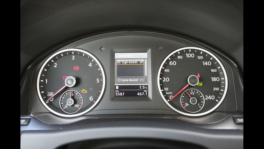 VW Tiguan 2.0 TDI 4Motion, Rundinstrumente