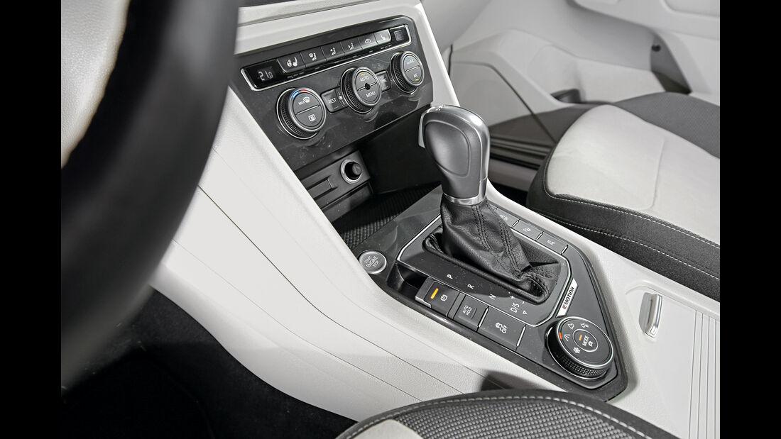 VW Tiguan 2.0 TDI 4Motion, Schalthebel