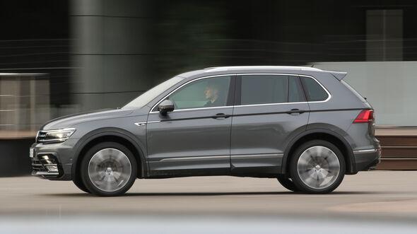 VW Tiguan 2.0 TDI 4Motion, Seitenansicht