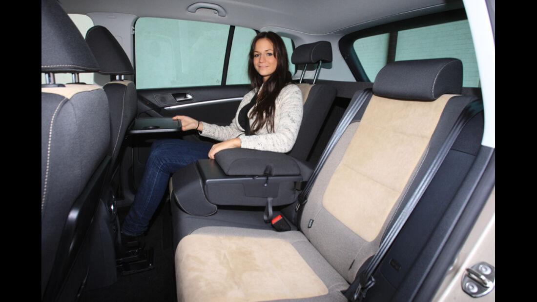 VW Tiguan 2.0 TDI 4motion BMT, Fond