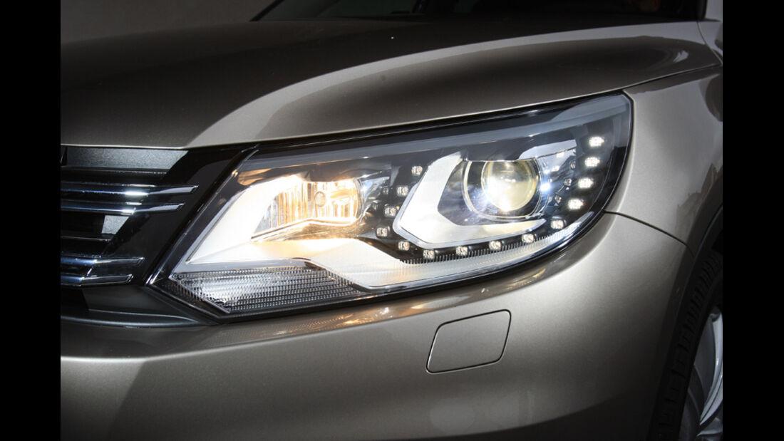VW Tiguan 2.0 TDI 4motion BMT, Scheinwerfer
