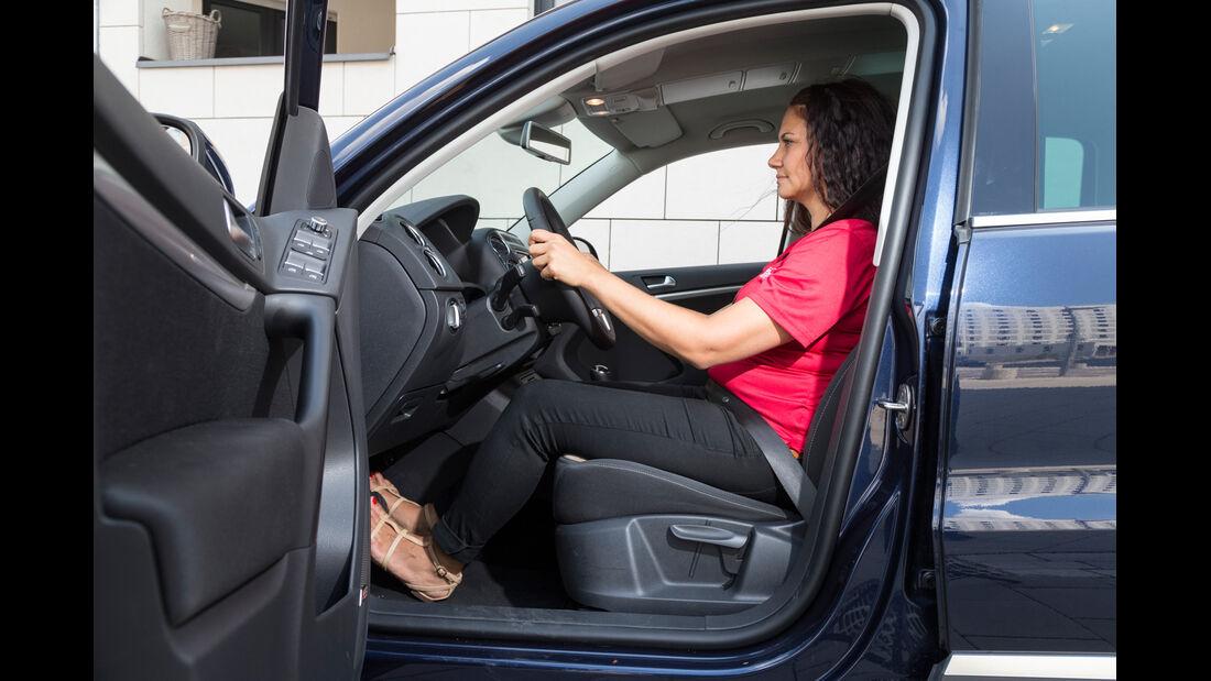 VW Tiguan 2.0 TDI BMT, Fahrersitz