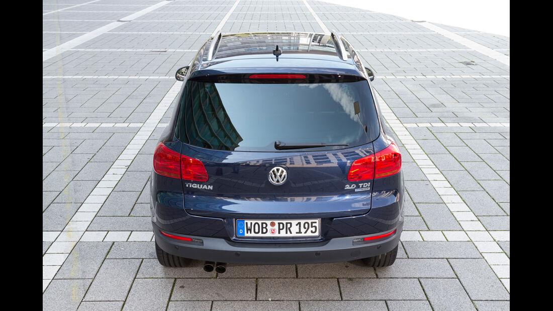 VW Tiguan 2.0 TDI BMT, Heckansicht