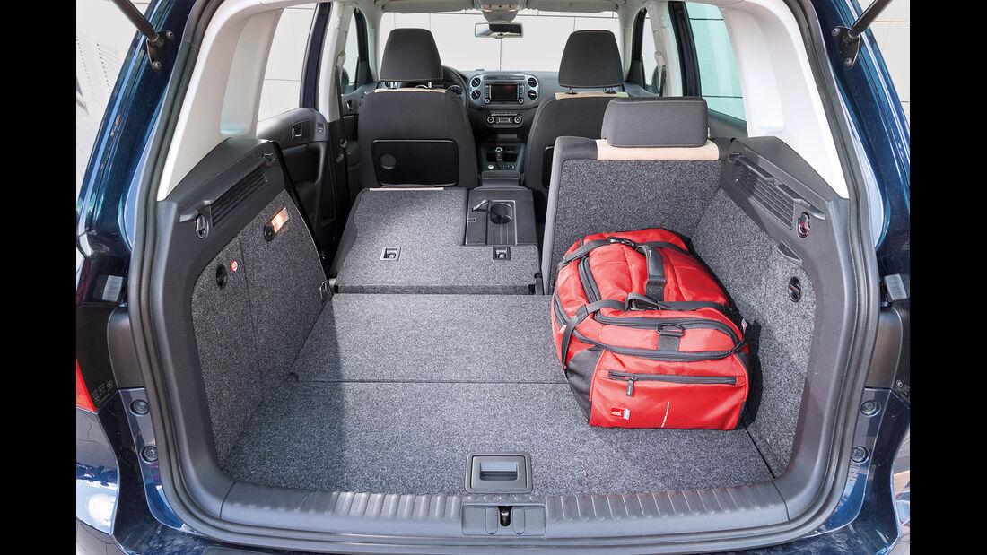 VW Tiguan 2.0 TDI BMT, Kofferraum