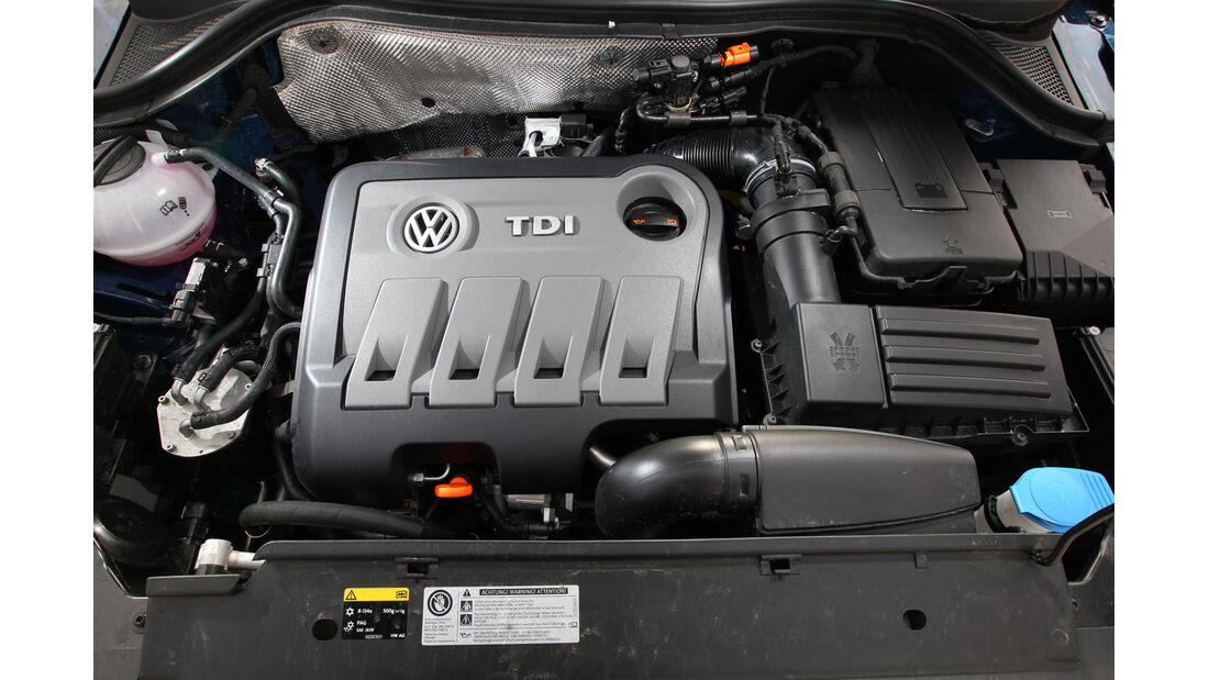 VW Tiguan 2.0 TDI BMT, Motor